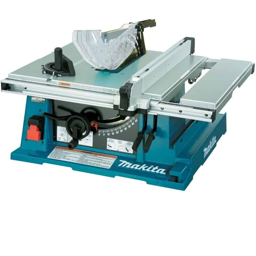 makita 2705 10 inch contractor table saw review power. Black Bedroom Furniture Sets. Home Design Ideas