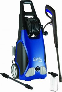 AR Blue Clean AR383 1,900 PSI 1.5 GPM 14 Amp Electric Pressure Washer with Hose Reel review