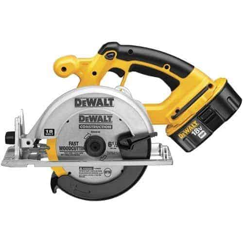 DEWALT DC390K 18-Volt Ni-Cad 6-1/2-Inch Cordless Circular Saw Kit review