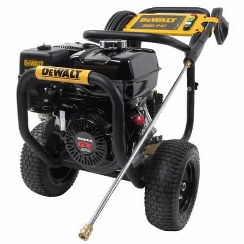 DEWALT DXPW3835 3,800 PSI 3.5 GPM Gas Pressure Washer with Honda Engine review