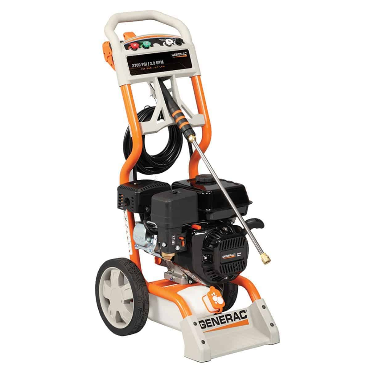 Generac 6023 2,700 PSI 2.3 GPM 196cc OHV Gas Powered Residential Pressure Washer review