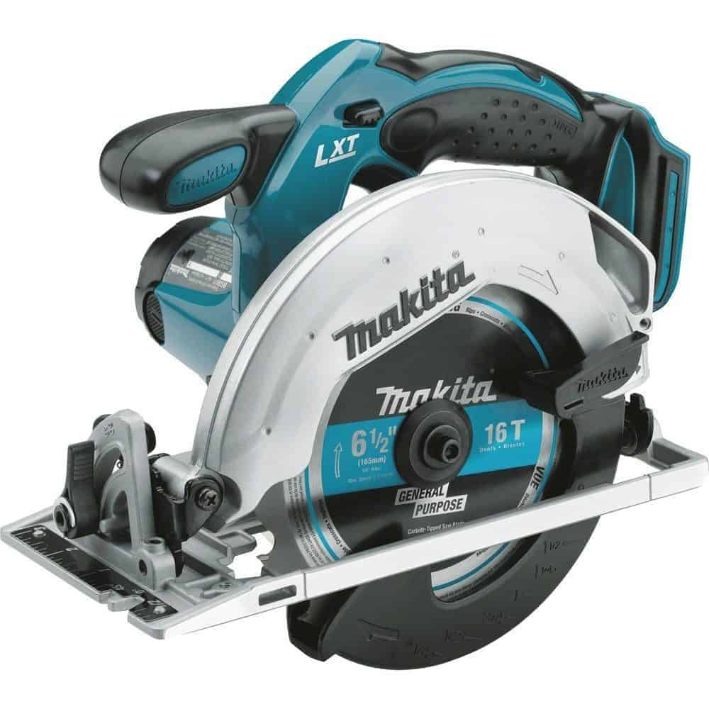 Makita XSS02Z 18V LXT Lithium-Ion Cordless Circular Saw, 6-1:2-Inch review