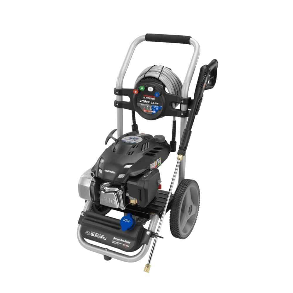 Powerstroke PS80947 2700 psi Gas Pressure Washer with Subaru Engine review