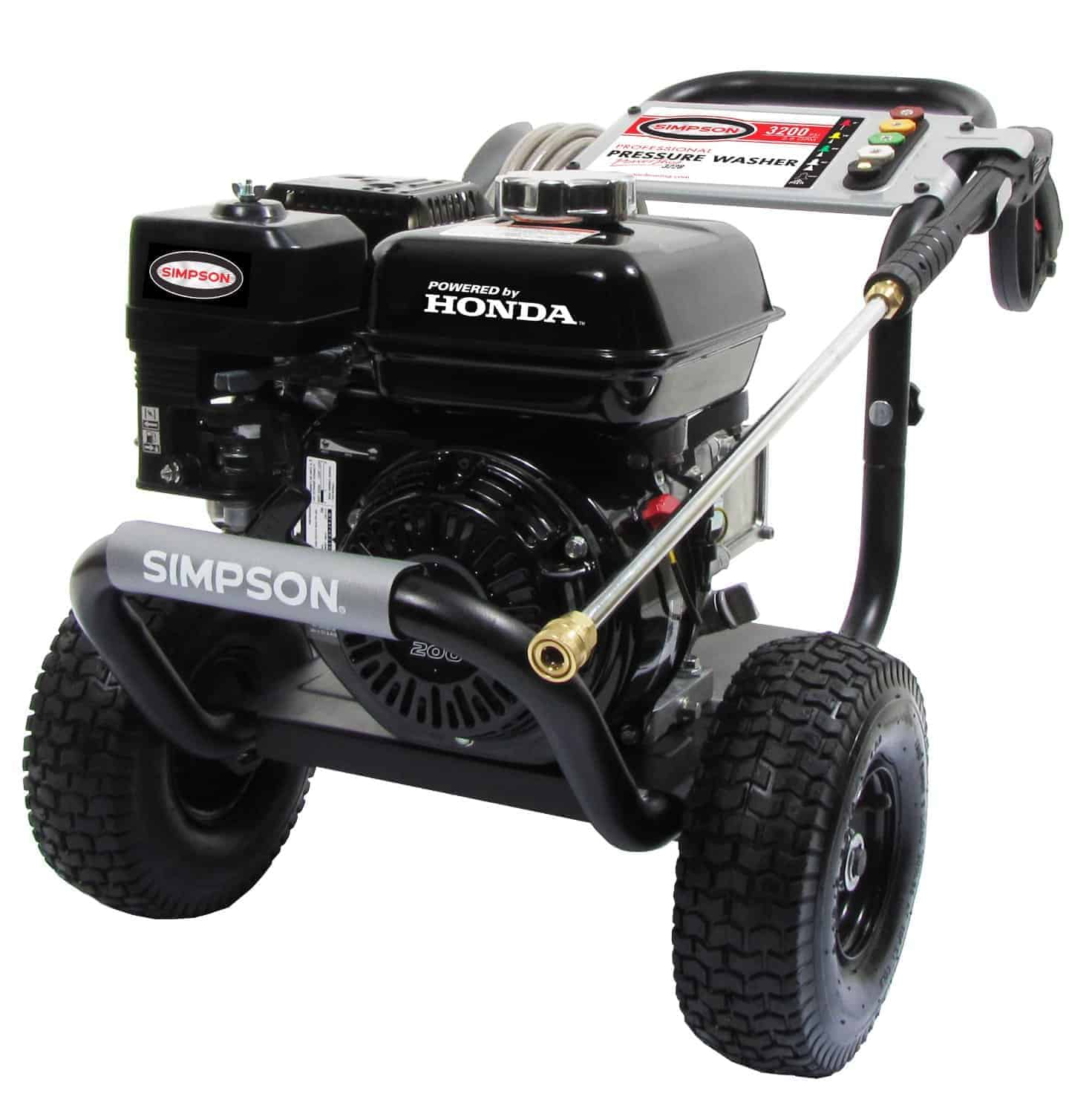 Simpson PS3228-S PowerShot 3200 PSI 2.8 GPM Honda GX200 Engine Gas Pressure Washer review