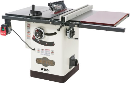 Hybrid table saw for the shop