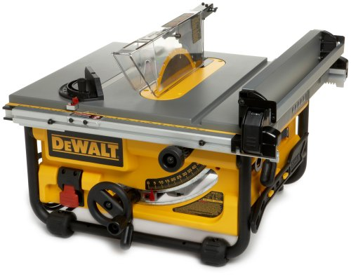 DEWALT DW745 benchtop table saw