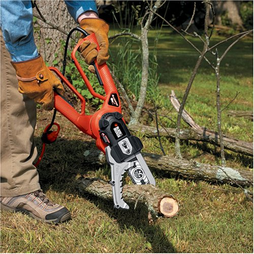 Black & Decker Alligator Lopper 4.5 Amp Electric Chain Saw Review