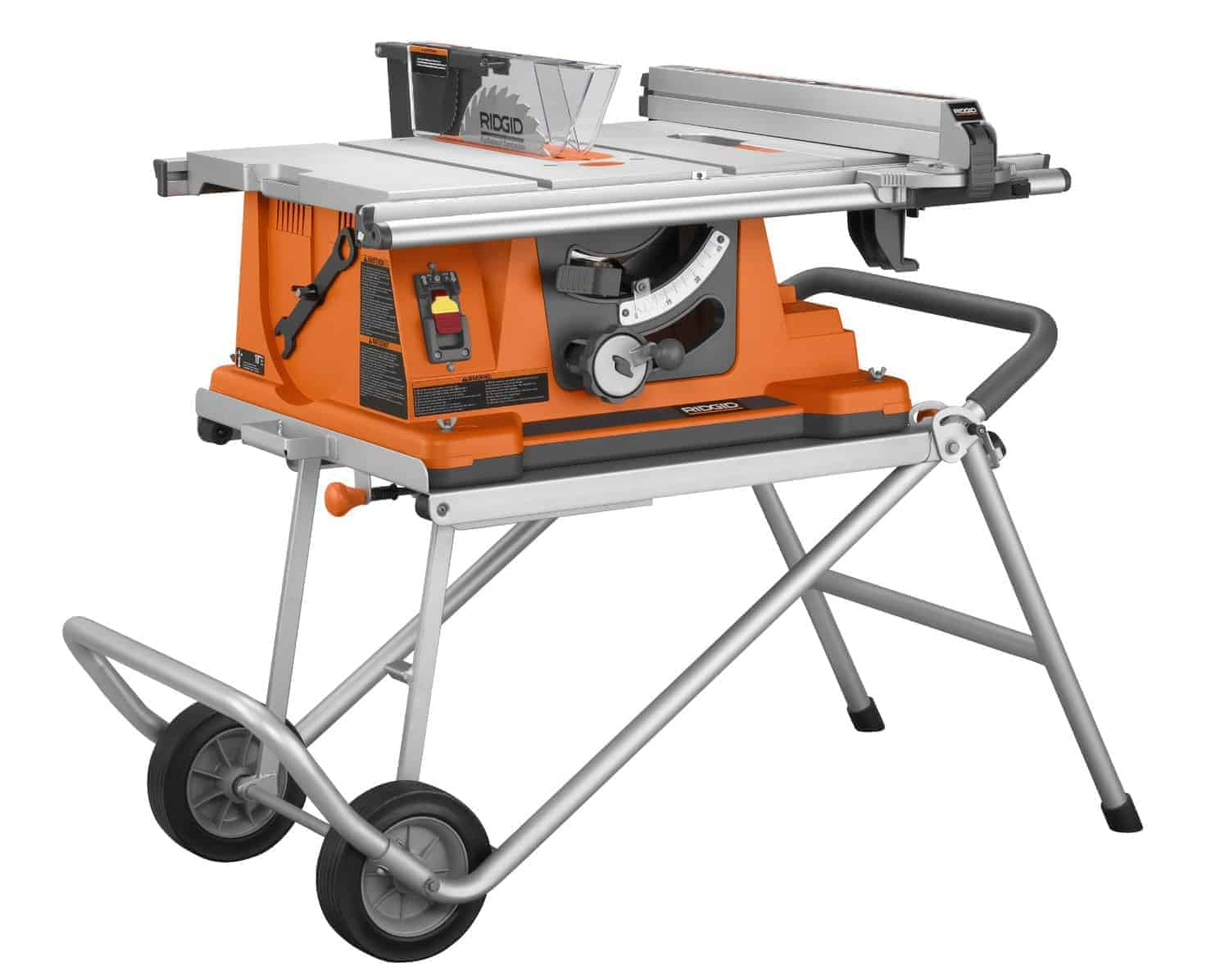 Ridgid R4510 Heavy-Duty Portable Table Saw with Stand review