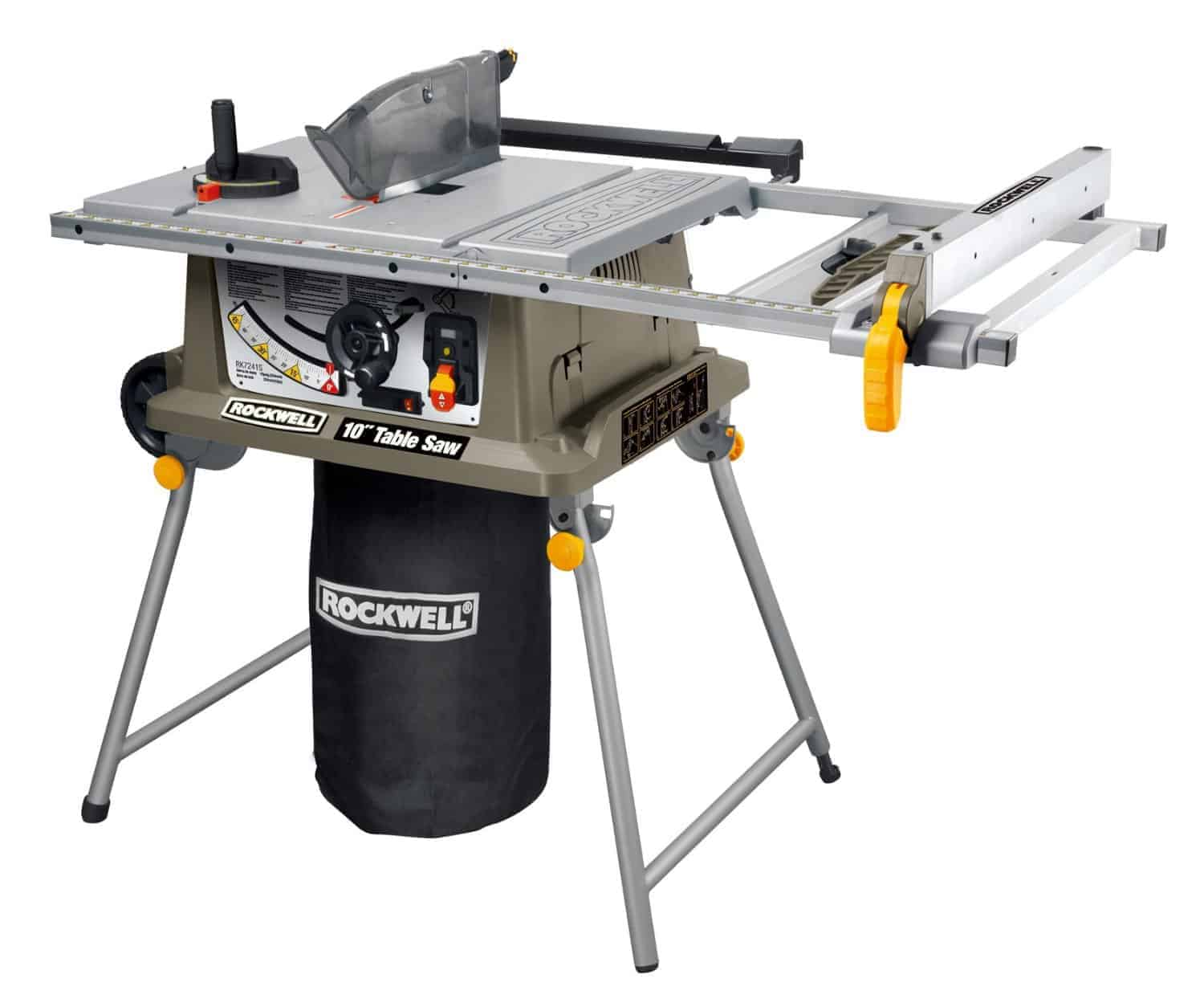 Rockwell rk7241s 10 inch portable table saw review Portable table saw reviews