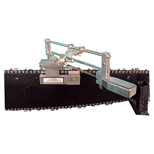 Bar mount chainsaw sharpener