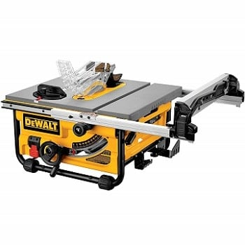 DeWALT DW745 10 inch compact job site table saw review