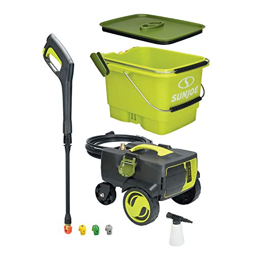 Sun Joe iON SPX6001C-XR battery powered pressure with bucket best choice