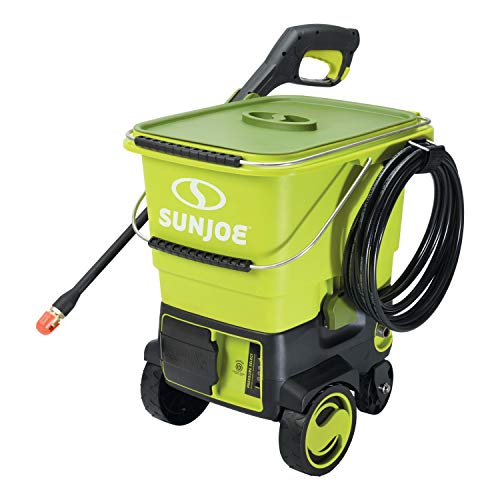 Sun Joe iON SPX6001C-XR highest capacity cordless pressure washer