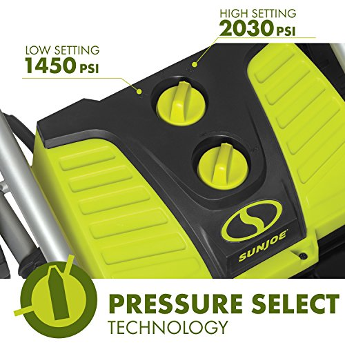 Sun Joe SPX4000 SPX4001 Pressure Select Technology choose your power level for best results