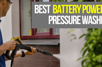 2021's 5 Best Cordless Battery Powered Pressure Washers