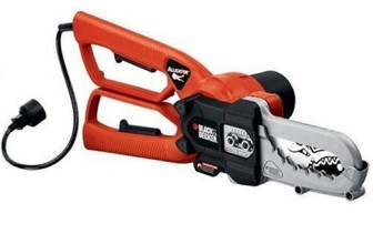 Black & Decker LP1000 Alligator Lopper Amp Electric Chain Saw Review