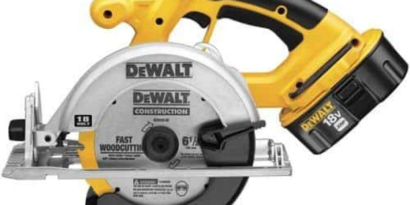 DeWALT DC390K 18V Cordless Circular Saw Review