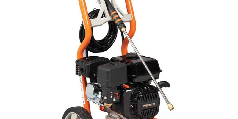 Generac 6023 2700 PSI 2.3 GPM 196cc OHV Gas Powered Residential Pressure Washer review