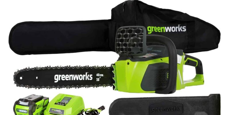 GreenWorks 20312 DigiPro G-MAX 40V Li-Ion 16-Inch Cordless Chainsaw Review
