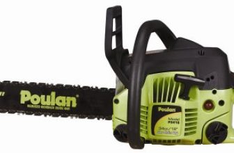 Poulan P3416 16-Inch 34cc 2-Cycle Gas-Powered Chain Saw Review