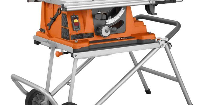 Ridgid R4510 Heavy-Duty Table Saw Review
