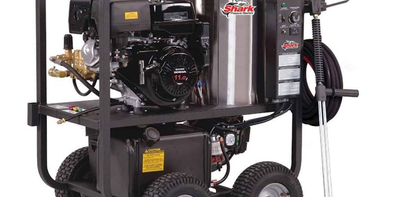 The Best Hot Water Pressure Washer? Shark SGP-353037 Review